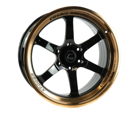 Cosmis XT006R Black w/ Bronze Machined Lip 20×9.5 +15 6×135