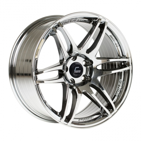 Cosmis MRII Black Chrome 15×8 +30 4×100