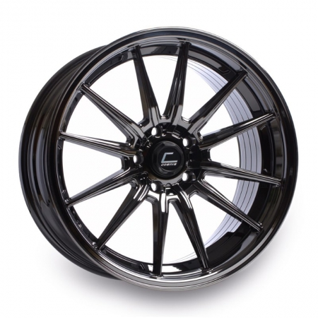 Cosmis R1 Black Chrome 18x9.5 +35 5x114.3