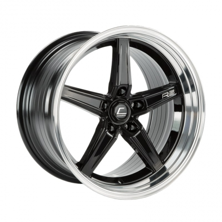 Cosmis R5 Black with Machined Lip 18×10.5 +22 5×120
