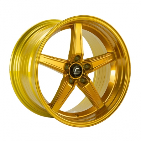 Cosmis R5 Hyper Gold 18×10.5 +15 5×114.3