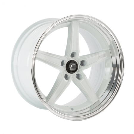Cosmis R5 White with Machined Lip 18×10.5 +15 5×114.3