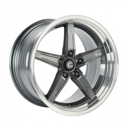 Cosmis R5 Gunmetal with Machined Lip 18×10.5 +22 5×120