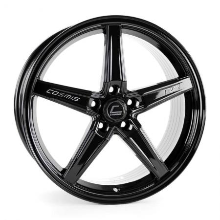 Cosmis R5 Black 18×8.5 +40 5×108