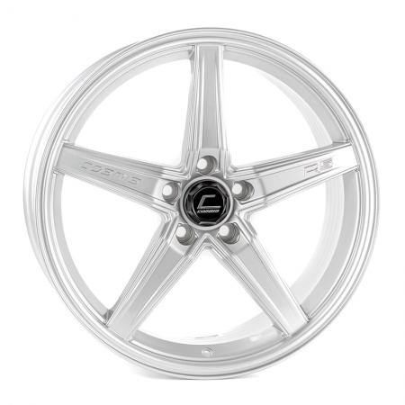 Cosmis R5 Silver 18×8.5 +40 5×108