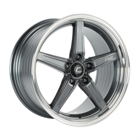 Cosmis R5 Gunmetal with Machined Lip 18×9.5 +25 5×120