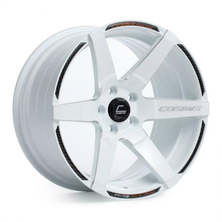 Cosmis S1 White 18×10.5 +5 5×114.3