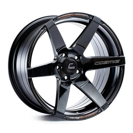 Cosmis S1 Black 18×10.5 +5 5×114.3