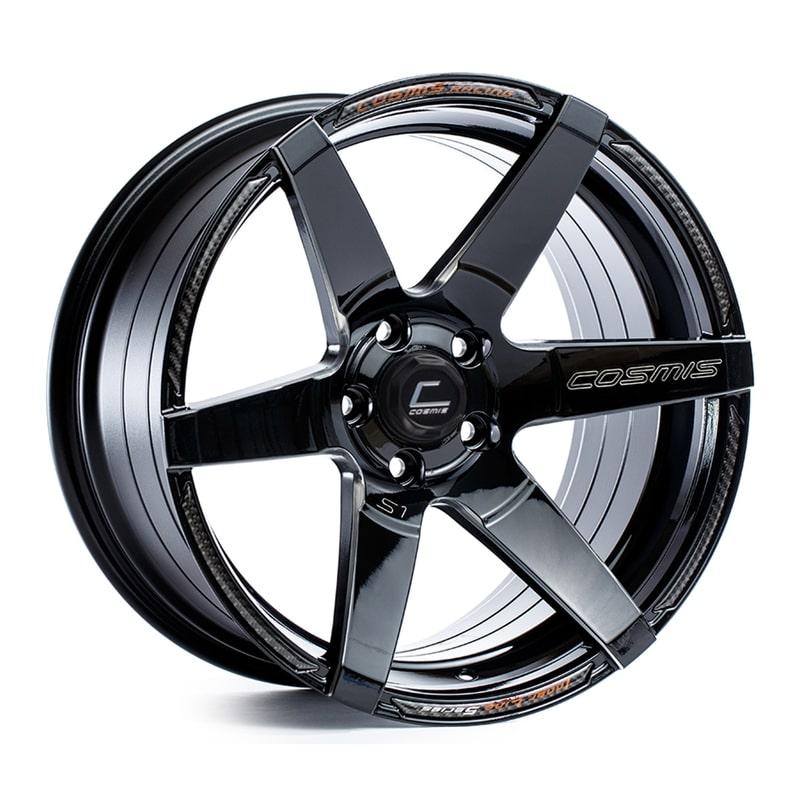 Cosmis S1 Black 18x9.5 +15 5x114.3
