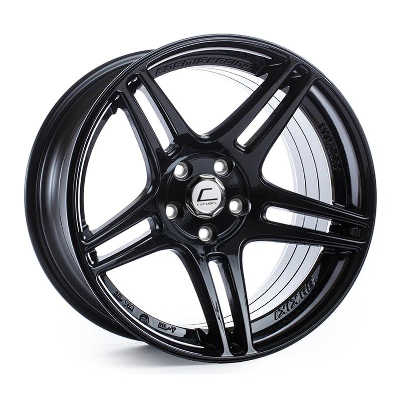 Cosmis S5R Black 17x10 +22 5x114.3