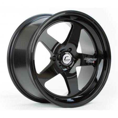 Cosmis XT005R Black 17×9.5 +5 5×114.3