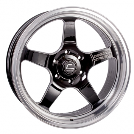Cosmis XT005R Black with Machined Lip 20×9.5 +15 6×139.7