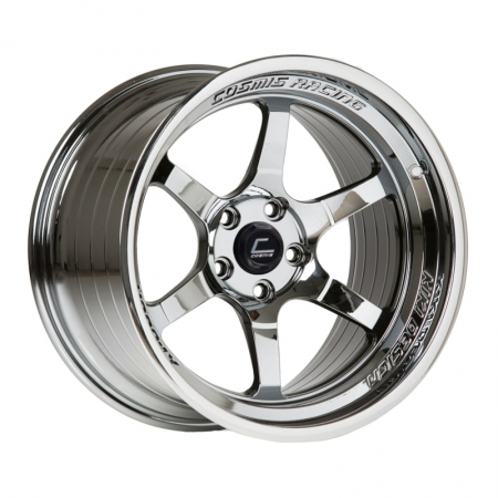 Cosmis XT006R Black Chrome 18×11 +8 5×114.3
