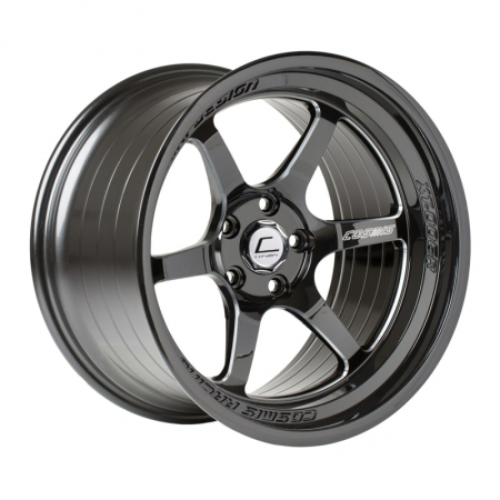 Cosmis XT006R Black with Milled Spokes 18×11 +8 5×114.3