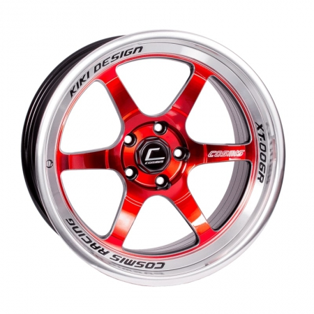 Cosmis XT006R Red with Machined Lip 18×11 +8 5×114.3