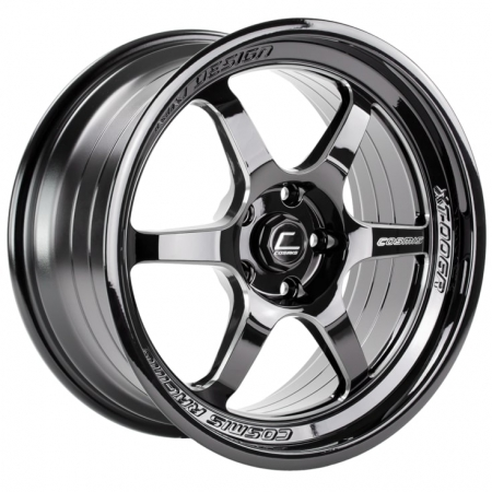 Cosmis XT006R Black with Milled Spokes 18×9 +30 5×114.3