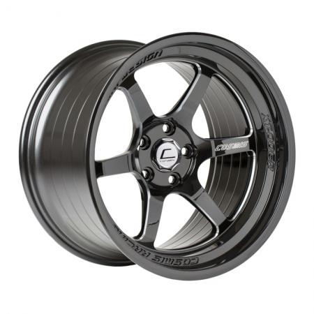 Cosmis XT006R Black with Milled Spokes 18x9.5 +10 5x114.3