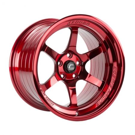 Cosmis XT006R Hyper Red 18×9.5 +10 5×114.3