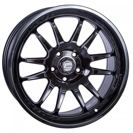 Cosmis XT206R Black 17x8 +30 5x114.3