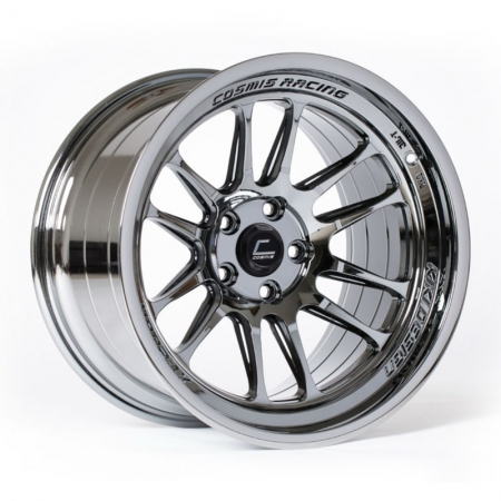 Cosmis XT206R Black Chrome 17×9 +5 5×114.3