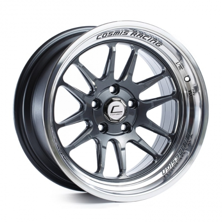 Cosmis XT206R Gunmetal with Machined Lip 17×9 +5 5×114.3