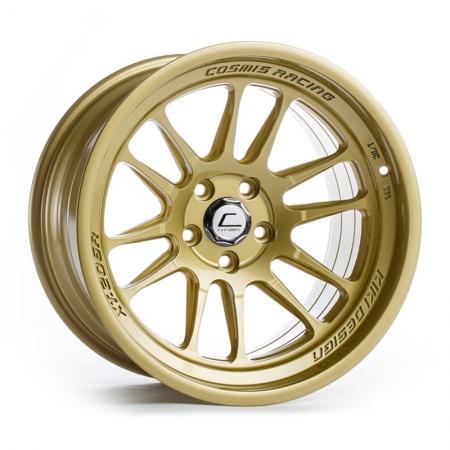 Cosmis XT206R Gold 18×11 +8 5×114.3