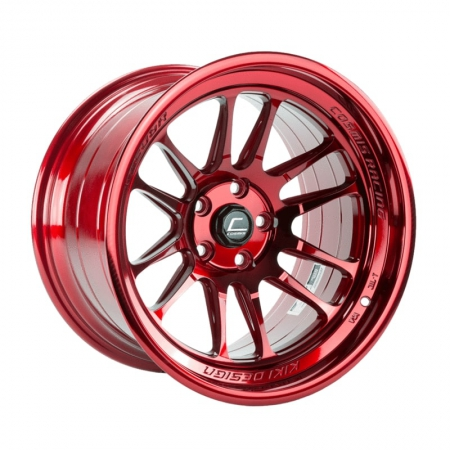 Cosmis XT206R Hyper Red 18×9.5 +10 5×114.3