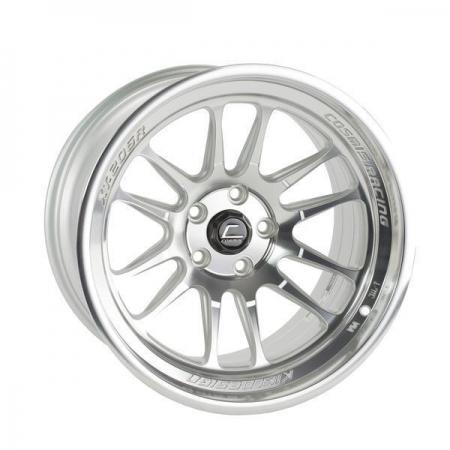 Cosmis XT206R Silver Machined Face 18×11 8mm 5×114.3