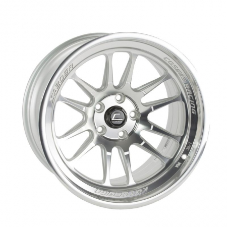 Cosmis XT206R Silver Machined Face 20×10.5 +45mm 5×114.3